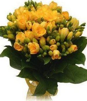 Buchet frezii galbene (Astru Floral)